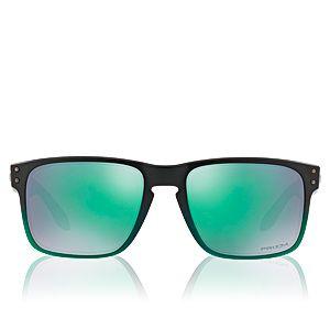 Oakley Lunettes Holbrook Jade Fade Prizm Jade Iridium OO9102-E455