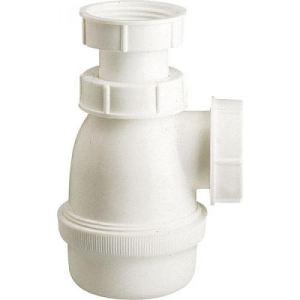 Nicoll Siphon polypropylène sortie J.C Diamètre 32 mm pour bidet Filetage 33/42