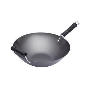 Kitchen craft Pure Oriental - Wok anti-adhésif acier carbone (35 cm)