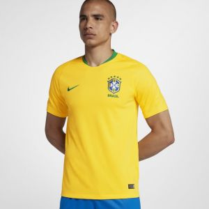 Nike Maillot de football 2018 Brasil CBF Stadium Home pour Homme - Or - Taille 2XL - Male