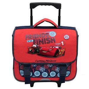 Cartable Cars Ice 38 cm pour enfants Rouge Noir wrNxvOeNjs
