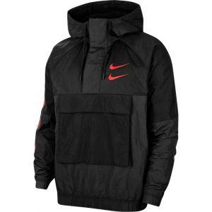 Nike Veste tissée Sportswear Swoosh pour Homme - Noir - Taille L - Male