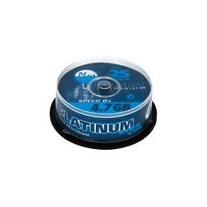 Bestmedia 100016 - 25 DVD+R Platinum 4.7 Go 16x (spindle)
