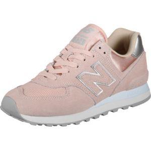 New Balance Wl574ops Rose Femme 37 Baskets