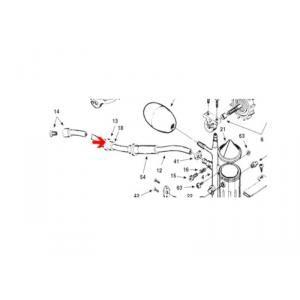 Procopi 1001026 - Anneau d'usure tentacule Polaris 180-280-360-380