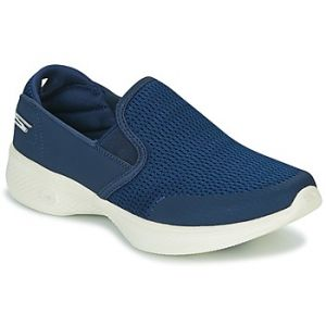 Skechers Go Walk 4-Attuned, Baskets Enfiler Femme, Bleu (Navy), 41 EU