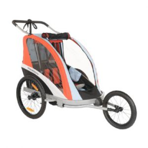Weeride Remorque de vélo pour enfant buggy go trailer 3 en 1