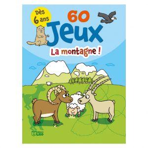 Editions Lito 60 Jeux à la Montagne Bloc