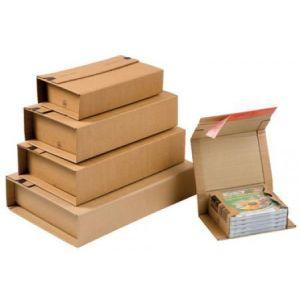 Mailmedia CP 020.08 - Carton d'expédition ColomPac, dim. 302 x 215 x -80 mm intérieur