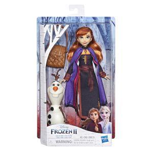 Hasbro Disney La Reine Des Neiges 2 - Coffret Poupee Princesse Disney Anna et Olaf