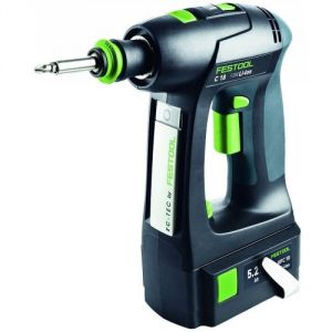 Festool Quadrive 18V DRC 18-4 Li 5,2 plus - Perceuse visseuse sans fil