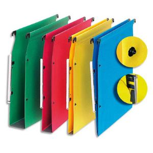 5* office Boîte de 25 dossiers suspendus pour armoire en kraft (fond : 15 mm)