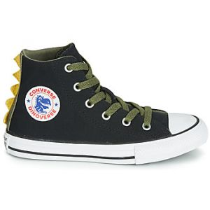 Converse Chaussures enfant CHUCK TAYLOR ALL STAR DINO SPIKES CANVAS HI vert - Taille 36,37,38,27,28,29,30,31,32,33,34,35