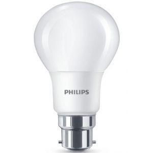 Philips Ampoule led standard 8-60w B22 dépolie blanc chaud - L'unité
