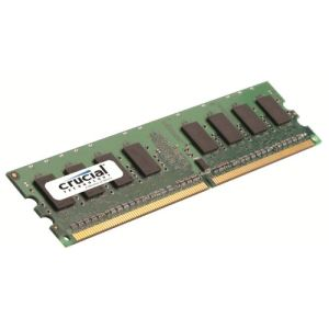 Crucial CT12864AA667 - Barrette mémoire 1 Go DDR2 667 MHz 240 broches