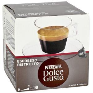 Nescafe 16 capsules Dolce Gusto Espresso Ristretto