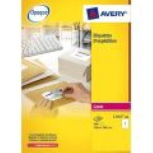 Avery-Zweckform L7166-100 - Boîte de 600 étiquettes adresses laser (9,31 x 9,91 cm)