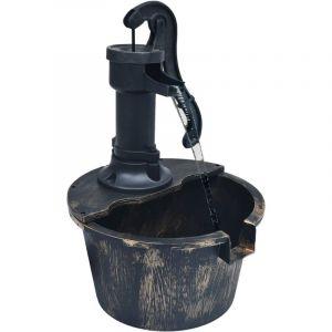 VidaXL Fontaine de jardin avec pompe