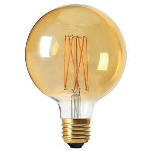 Girard sudron Ampoule led G125 filament E27 4 watt dimmable ambré -