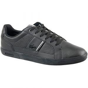Lacoste Europa 417 Spm0044024, Sneakers Basses Homme, Noir