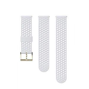 Suunto Bracelet Athletic 1 Silicone - 20 mm Accessoires montres/ Bracelets Blanc - Taille TU