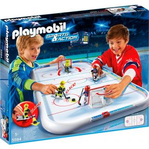 Playmobil 5594 Sports & Action - Stade de hockey sur glace