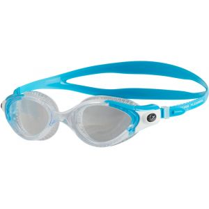 Speedo Futura Biofuse Flexiseal Lunette Femme, Turquoise/Clear, Taille Unique