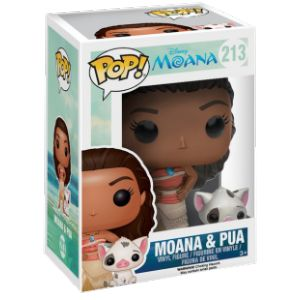 Funko Figurines Pop! Disney : Vaïana et Pua