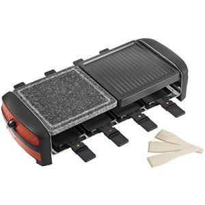 Bestron ARC800 - appareil à raclette et pierre à griller