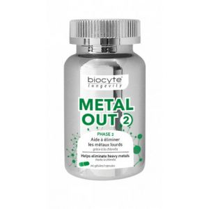 Biocyte Metal Out 2 90 gélules