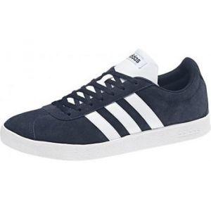 Adidas VL Court 2.0, Chaussures de Fitness Homme, Bleu (Maruni/Ftwbla 000), 43 1/3 EU