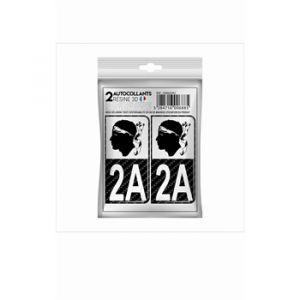 Cadox 2 Stickers En 3d Département Corse Du Sud 2a