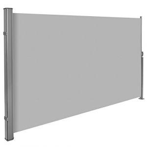 TecTake Store latéral brise-vue abri soleil aluminium rétractable 180x300cm