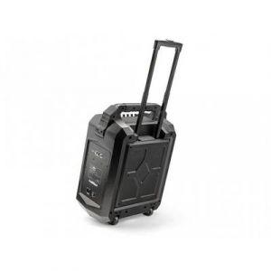 Caliber Haut-parleur Bluetooth 2 voies avec trolley 10 pouces rechargeable