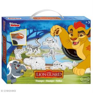 Aladine Kit Tampon Disney Enfant - La garde du Roi Lion - 6 pcs