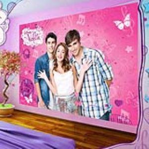 Papier peint Violetta Disney (254 x 184 cm)