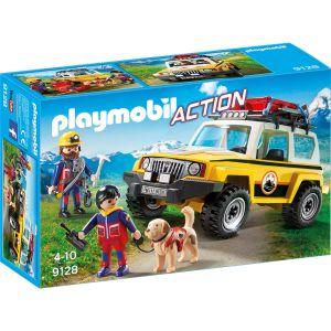 Playmobil 9128 Action - Secouristes des montagnes avec véhicule
