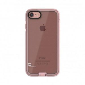 Xqisit Coque NUSON XTREME iPhone 7 - Rose Or