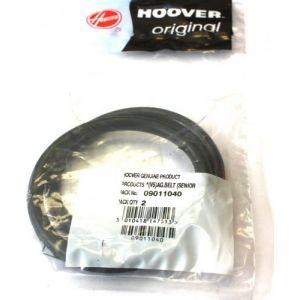 Hoover 9011040 - 2 courroies pour aspirateur V5