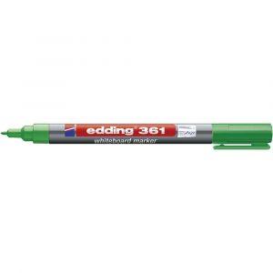 Edding Marqueur tableau blanc 361 vert 4-361004