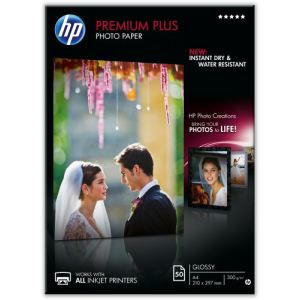 HP CR674A - 50 feuilles de papier photo Premium Plus 300g/m² (A4)