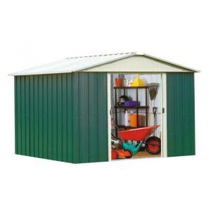Yardmaster 109GEYZ - Abri de jardin en métal 7,39 m2