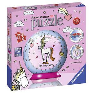 Ravensburger Puzzle Ball 3D - Be Unicorn 72 pièces