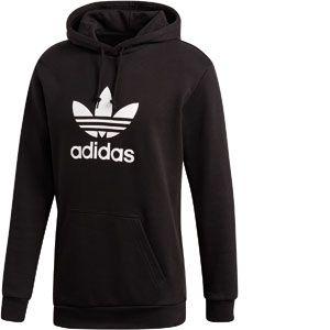 Adidas Trefoil Hoodie Sweat-Shirt de Sport à Capuche Homme, Noir Black, Small