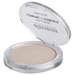 Benecos Poudre compacte naturelle - 01 Porcelaine