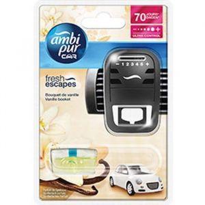 Ambi Pur Désodorisant voiture rechargeable Car Bouquet de vanille