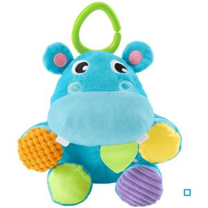 Fisher-Price Cacher ma peluche Hippo multicolore
