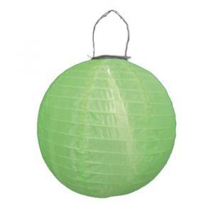 Blachère illumination Lampion solaire 30 cm - vert