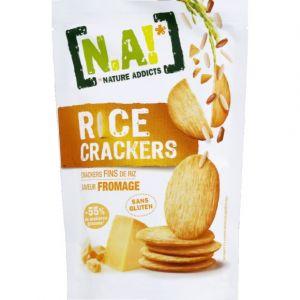 N.a! Crackers fins de riz saveur fromage