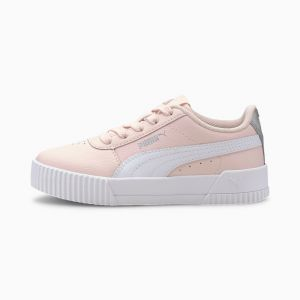 Puma Carina L PS', Baskets Fille, Rosewater White, 30 EU
